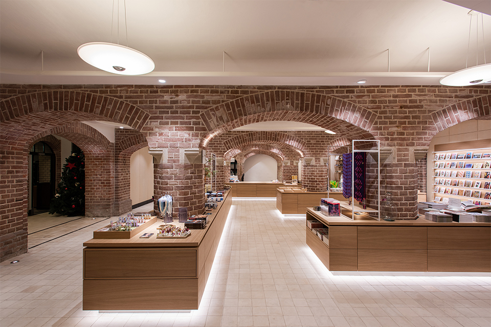 retaildesign museumboutique dutchcastles hereweare architects kasteel de haar