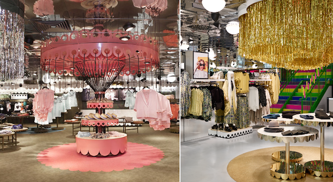 HM monki stijlgroep visual merchandise retail design