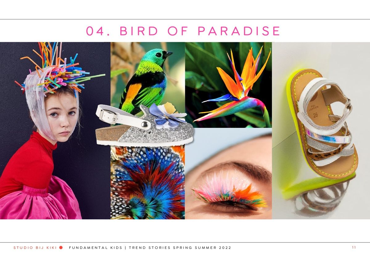 bij kiki fundamental kids bird of paradise1