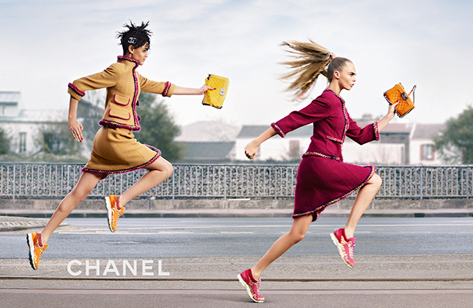 chanel fall winter 2014 15 doen sports trend