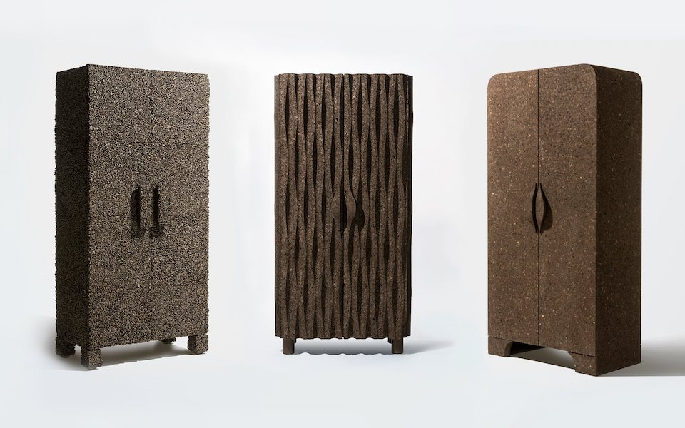 cork-furniture-campana brown age aw20-21 #interior #trends #brownage #lidewijedelkoort #craftscurator