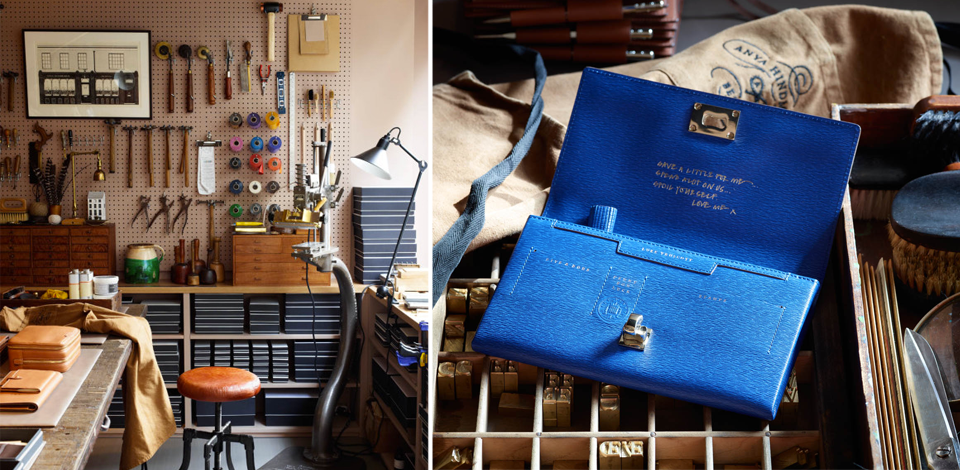 craft luxury goods leather bag store makers