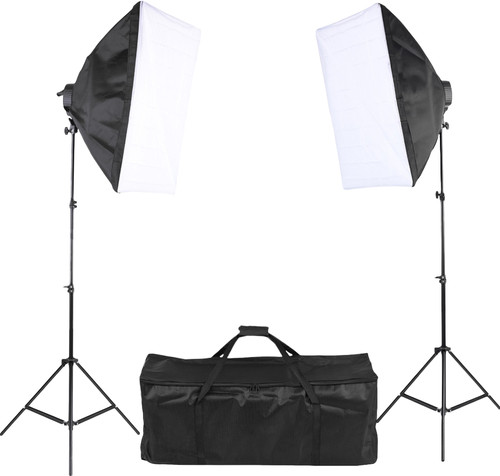 daglicht set softbox fotografie video