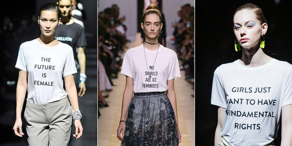 feminist activist t shirts high fashion