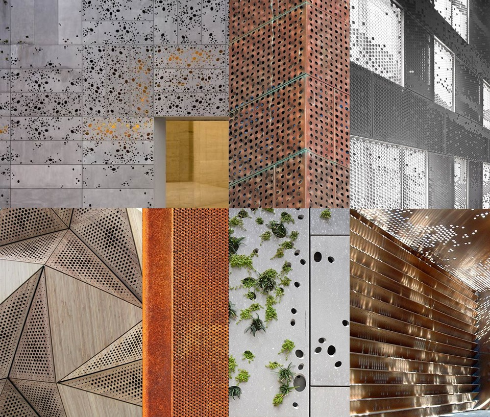 imperfect dots architecture surface pattern design