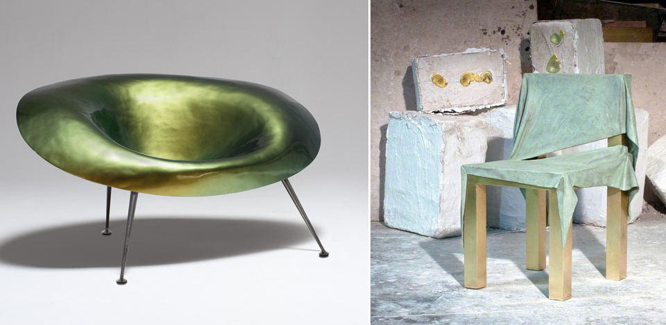 imperfettolab jens praet furniture draped metals