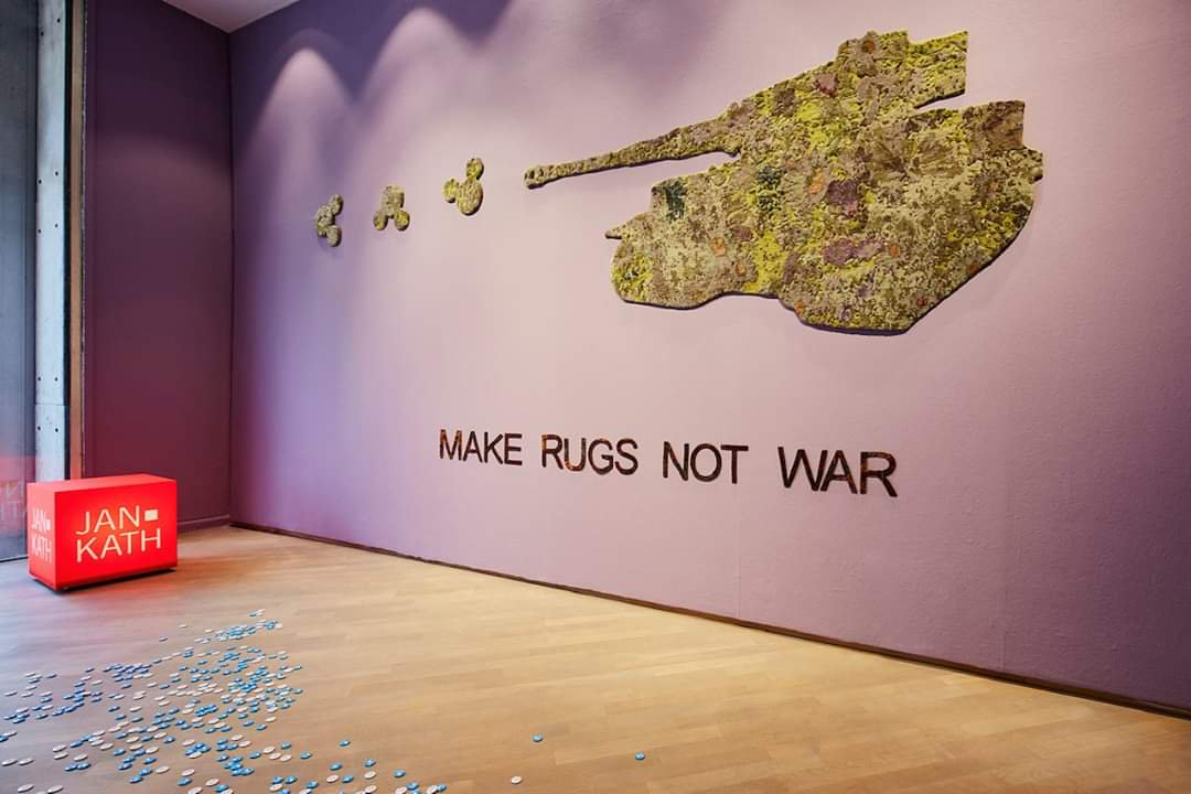 jan kath make rugs nog war
