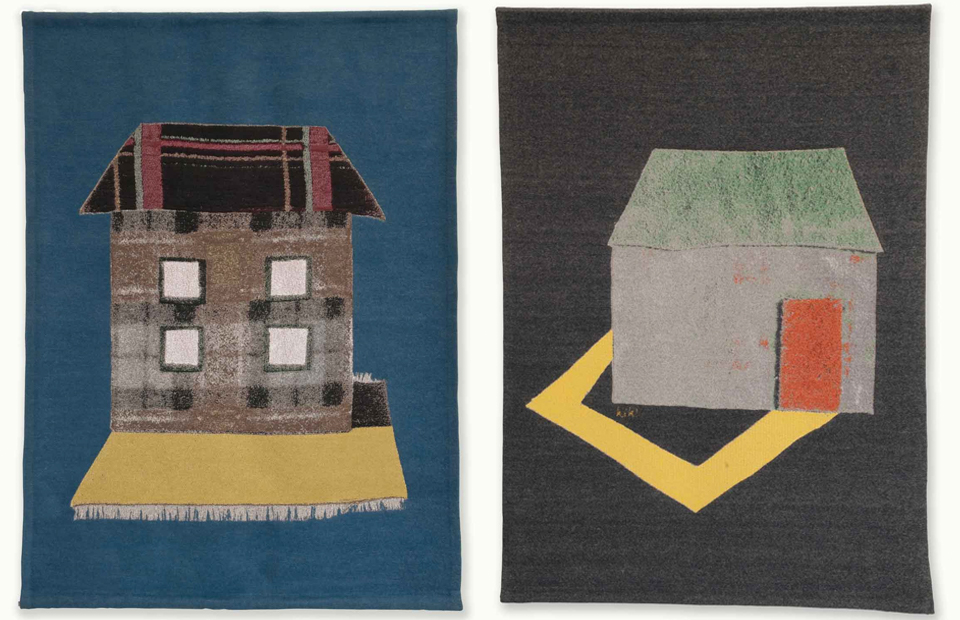 kiki van eijk wall hangings #textile #wallhangings #kikivaneijk