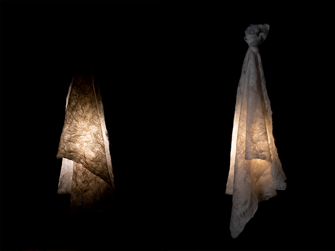 lichtobjecten margaret van bekkum vilt interieurdesign #interior #light #textile #felt #interiordesign @margaretvanbekk