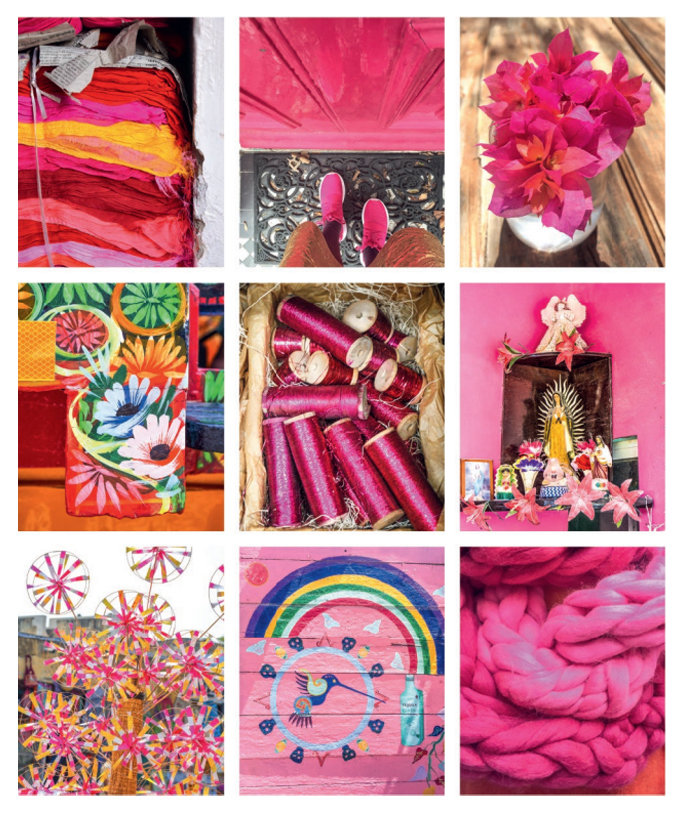 mood board met verschillende afbeelding in een roze thema #rainbow #pink #roze #candy #diy #feet #pictures #flowers #colorful #happy #pink