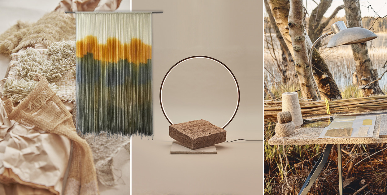rewild textile trends nature sustainability heimtextil
