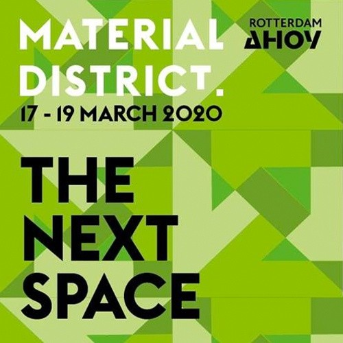 Material District: materiaalinnovatie & meer