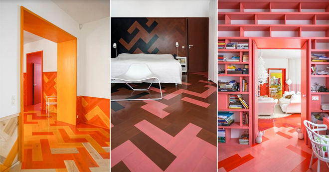 tham virdegard technicolor parket interior design color